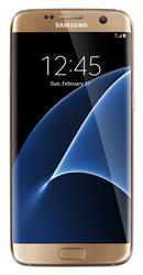 Samsung Galaxy S7 Edge Gold Pay Monthly Phone