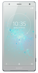 Sony Xperia XZ2 Silver Pay Monthly Phone